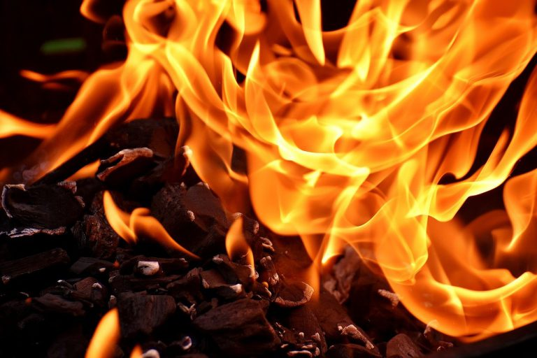 fire, flame, carbon